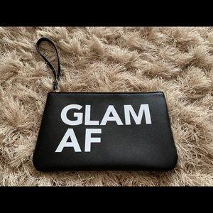 2/15$ glam AF wristlet